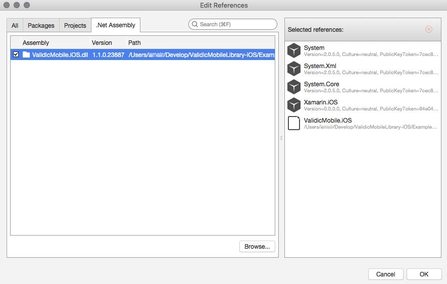 Validic Mobile Library (Xamarin iOS)